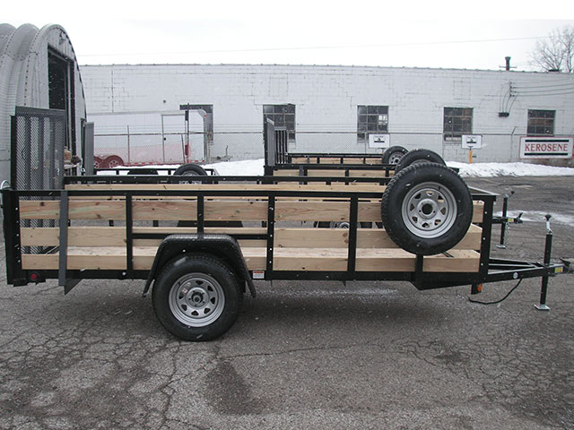 "82"" x 12"" High Side Wood Slats and Spare Tire (2018) - $1,875"