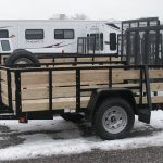 5x8 High Side Utility with Spare Tire (2020) - $1,625
