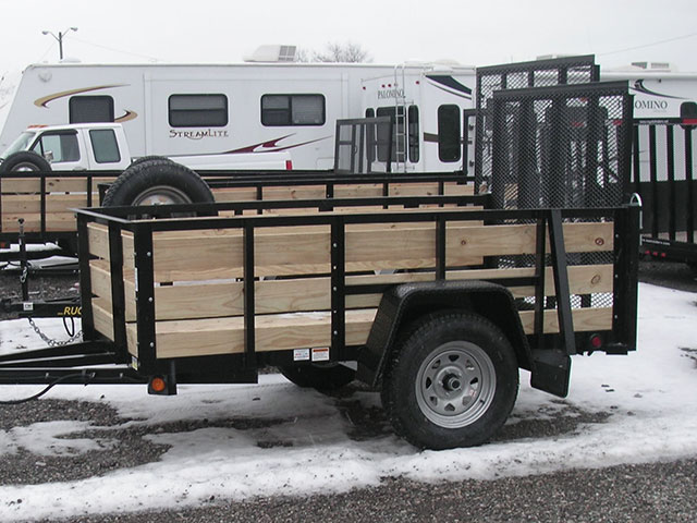 5x8 High Side Utility with Spare Tire (2019) - $1,600