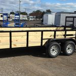 82 x 14 HS Utility Tandem axle with Spare tire (2019) - $2,595