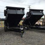 83 x 14 Dump Trailer (2020) High bulk head/Spare Tire/ Tarp kit $6,775