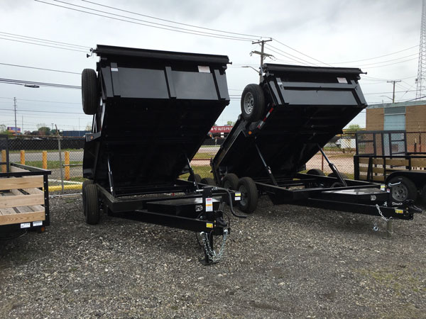 82 x 12 Dump Trailer (2020) High bulk head/Spare Tire/ Tarp kit