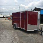 6x12 (2019) Cargo Express Brandywine Ramp Door / Side Door / Spare Tire with Mount / Jacks (Screwless) $3,275
