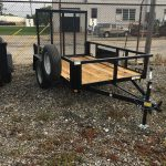 5 x 8 Low Side Utility (2019) w/Spare tire $1,495