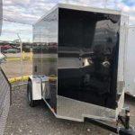 5x8 (2019) Black Cargo Express Ramp Door/Jacks/Spare Tire and Mount $2,375