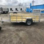 6 x 10 Aluminum trailer (2020) with Spare Tire / 4 recessed D Rings $2,400