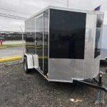 6 x 10 Black Cargo Express (2020) Ramp Door/Side Door/Ramp Extension/ Spare Tire/Screwless $3,150
