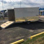 (Photo 2 of 3) 85 x 12 Cargo Express White Snow mobile / ATV Trailer 2020