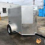 2020 Silver 4 x 6 Journey single Rear Door $1,995