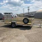 80 x 12 High Side Aluminum Utility with Spare Tire - $2,945