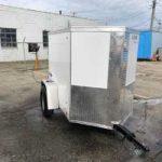 2020 White  4 x 6 Pace  Single Rear Door $1,995