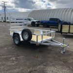 5 x 8 Low Side Aluminum Utility with Spare Tire (2020) $1,895